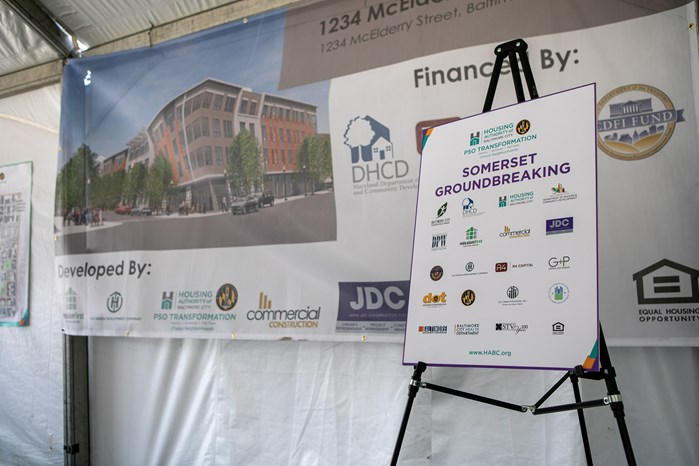 HABC and Baltimore City Begin Construction on 1234 McElderry